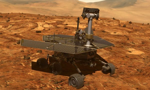 Good news! NASA says Opportunity rover should be able to wait out Martian storm