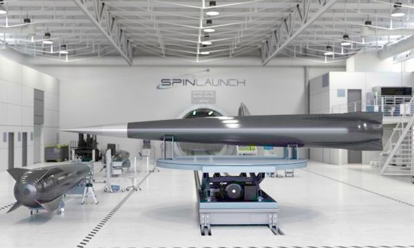 SpinLaunch raises $40M from Airbus, Google and others for space catapult
